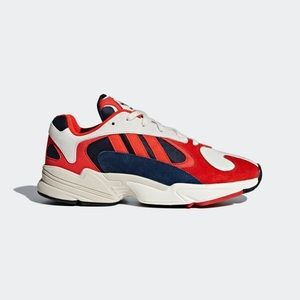 Adidas Yung-1 in Red Navy White